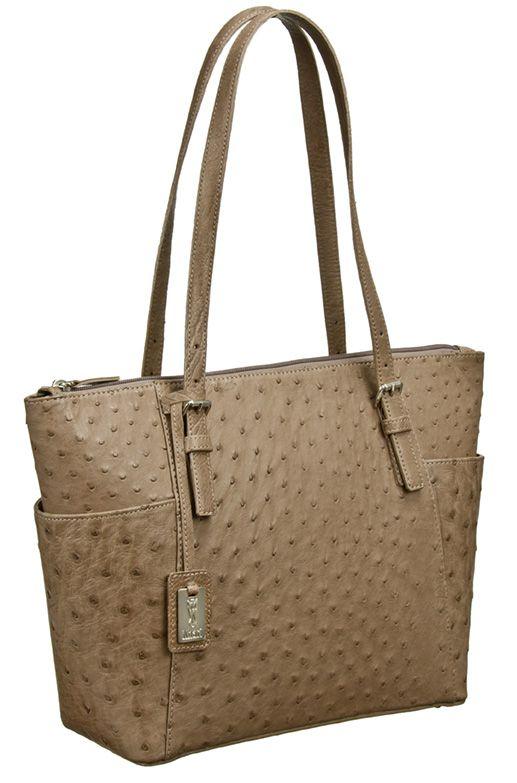 Khari Bag Pisa / Material Ostrich Leather / Dimensions: w28 x h25 x d11