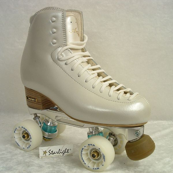 The Ambra.Mistral Roller Risport, Starlight.  The most beautiful roller skate - and they are mine!!!