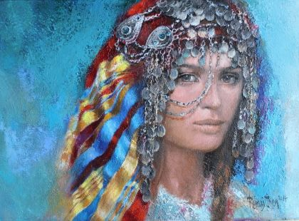 Remzi İren Tablo - Sivas Yabanlık Başlık