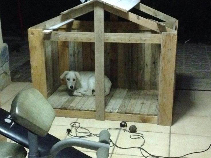 How to Build a Pallet Dog House? - DIY | 101 Pallet Ideas