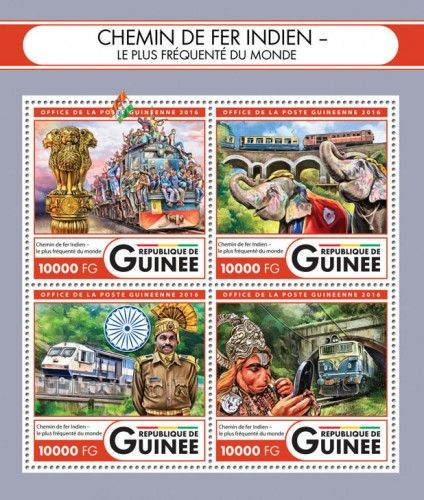 GU16418a Indian Railway (Indian Railways – the busiest in the world)