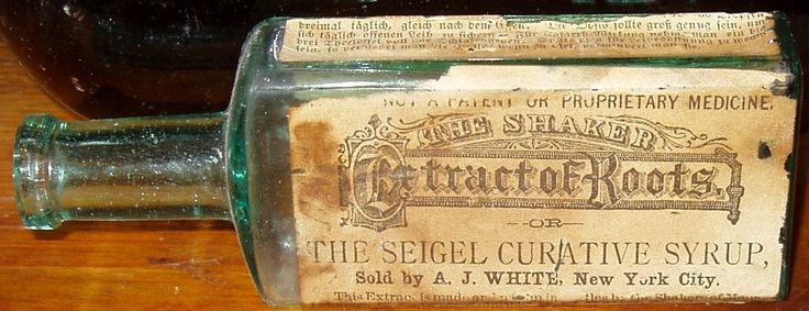 SHAKER Extract of Roots, Family Pills & Anodyne Enfield N.H. New Hampshire Med