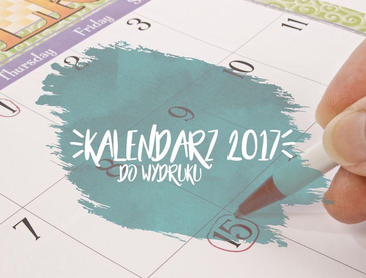 Pod koniec roku obiecałam wam niespodziankę do wydruku – oto i ona. Kalendarz na 2017 rok, specjalnie dla was zaprojektowany, minimalistyczny i pasujący do każdego miejsca pracy.