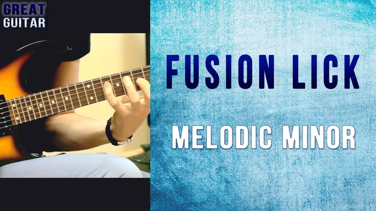GUITAR LICK LESSON Hey guys. Here's a cool sounding fusion guitar lick in F melodic minor for you all. Slow / Fast tempo. Tabs at the end of the video! Enjoy...