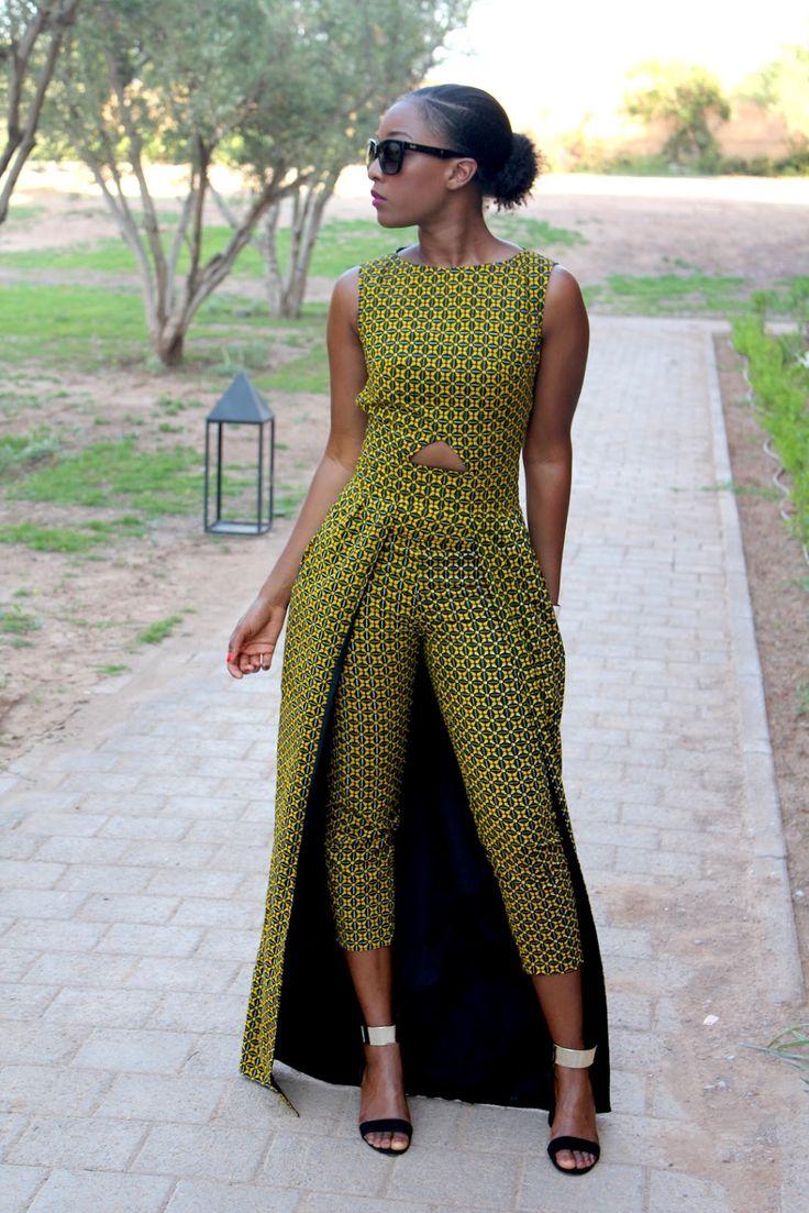"Natacha Baco Robe ""Fadila"" - By Natacha Baco , Trousers ""Ivy"" - By Natacha Baco , Sandals - Zara , Glasses - D & G Fashion Trend By M'Bem Di Fora"