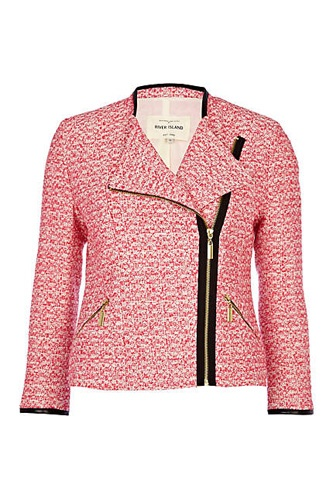 River Island Tweed Jacket, $89.31 available at River Island.  In love with this jacket!