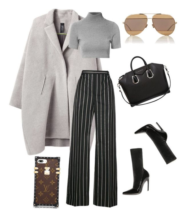 Başlıksız #52 by bilgzzxo on Polyvore featuring polyvore, fashion, style, Glamorous, Zero + Maria Cornejo, Balenciaga, Givenchy, Christian Dior and clothing