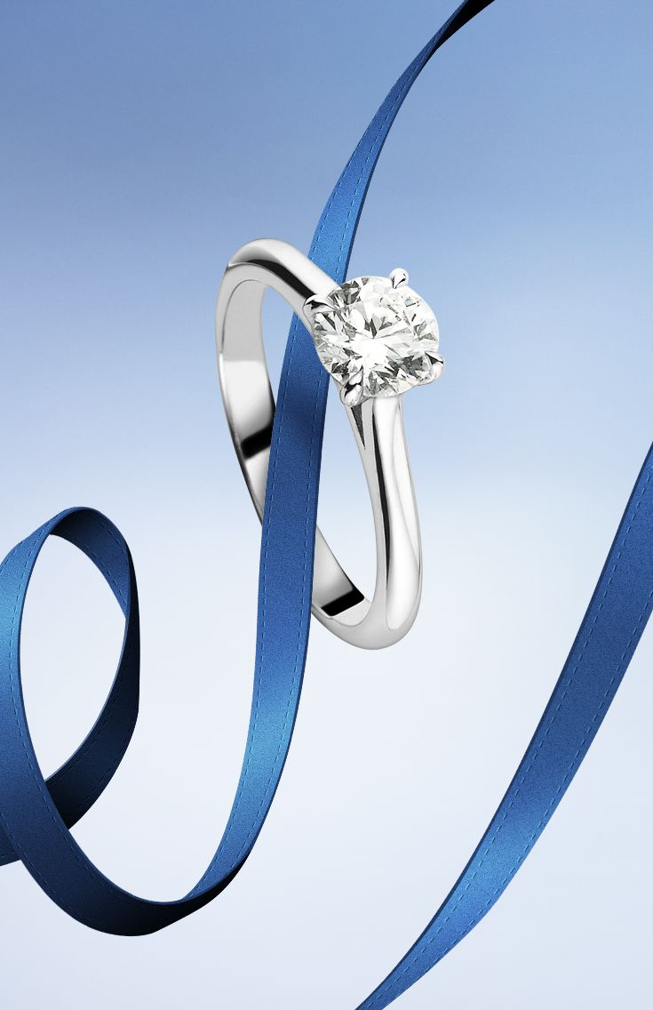 Make her shine with #Bucherer #Solitaire #ring #ThisIsForLove