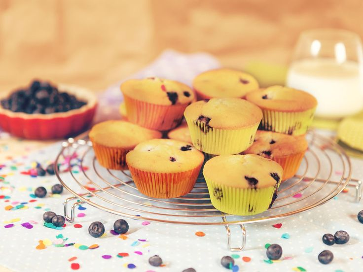 I like to take these delicious blueberry muffins to school. The other kids love them as well!