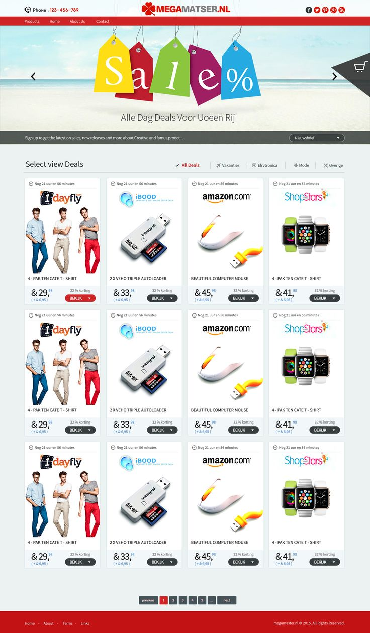 """Check out my @Behance project: """"eCommerce web page design"""" https://www.behance.net/gallery/40690873/eCommerce-web-page-design"""