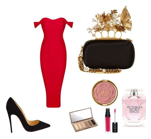 """""""Untitled #8"""" by evelin-pap on Polyvore featuring Alexander McQueen, Victoria's Secret, Milani, Urban Decay, Christian Louboutin, women's clothing, women, female, woman and misses"""