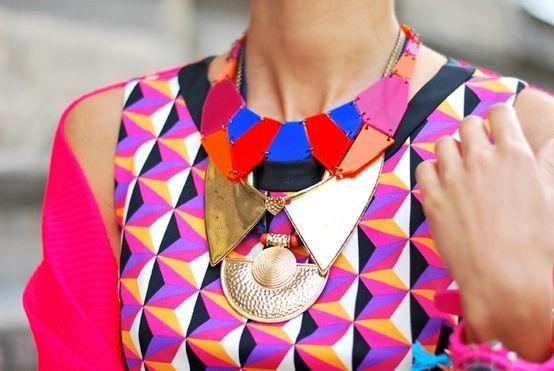 Image Via: Cape Cod Collegiate: Graphic, Inspiration, Statement Necklaces, Pattern, Fashion Style, Dress, Colors, Jewelry, Accessories