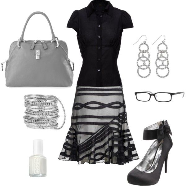 Office or night out on the town with those heels........either way, this rocks:)