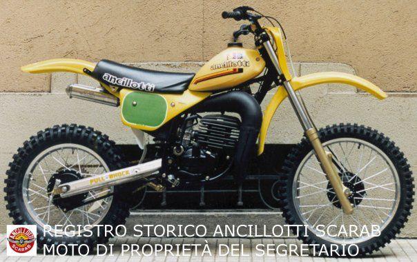 Ancillotti 250 cc. 1981 classic motocross Pinterest