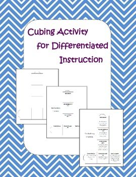 learning centers differentiated instruction
