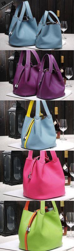handmade-leather-bucket-bag-shopper-bag-blue-purple-for-women-leather-tote-bag
