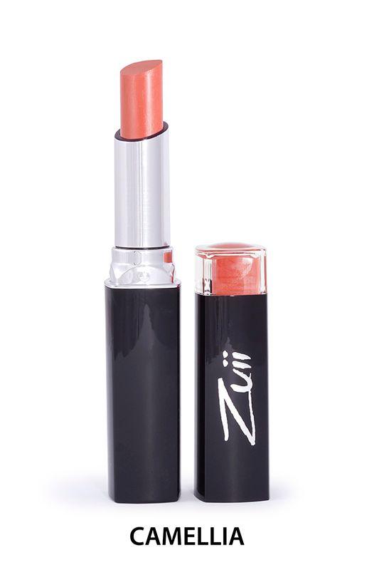 Zuii Organic - Intensywnie nawilżająca szminka w sztyfcie - Camellia [Morelowa]