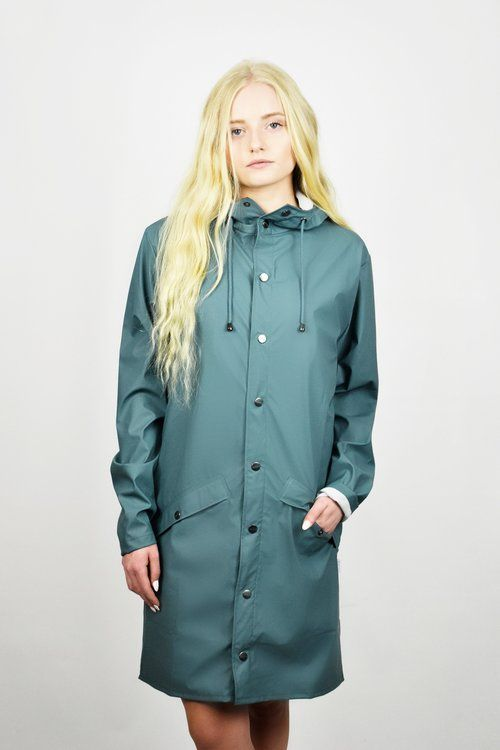 RAINS  raincoat. From blog post: 10 Hip Raincoats by Poplin Style. Available in multiple colors.