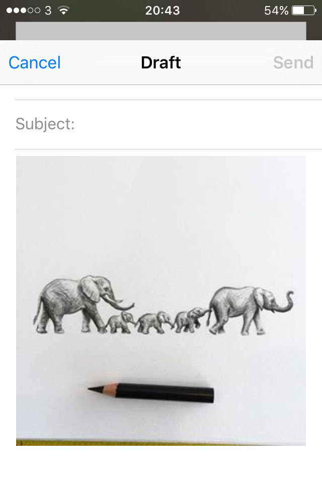 Elephant tattoo drawing Family of elephants                                                                                                                                                                                 More