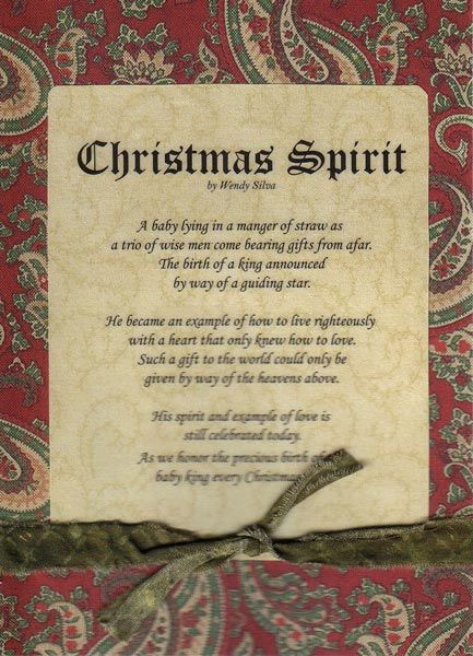 17 Best Christmas Poems Images On Pinterest Merry