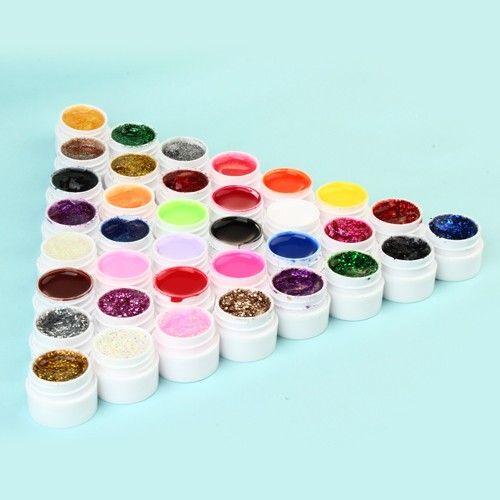 UV Gel Set pure+ Pulver 36 Flaschen