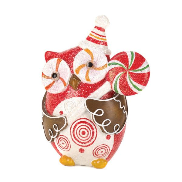 SUGARY SWEET HOLIDAY OWL DÉCOR