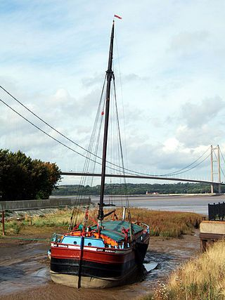 """""""Amy Howson"""" - geograph.org.uk  - Humber Keel"""