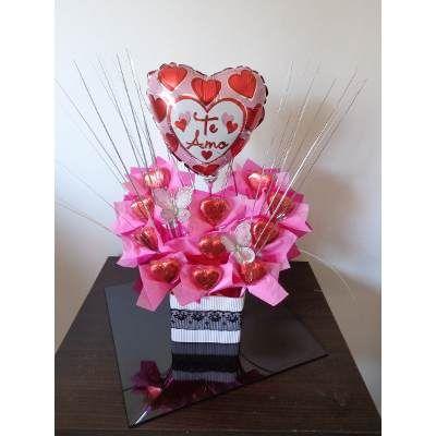 Bombones, Flores, San Valentin, Dia De Los Enamorados - $ 390,00 en MercadoLibre