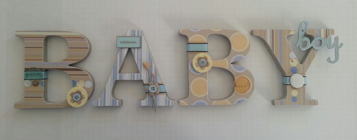 Baby Boy Wall Sign