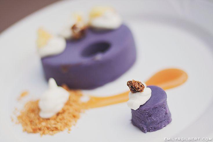 walt disney world food - epcot international festival of the arts - emilyrgilbert.com - purple sweet potato pie