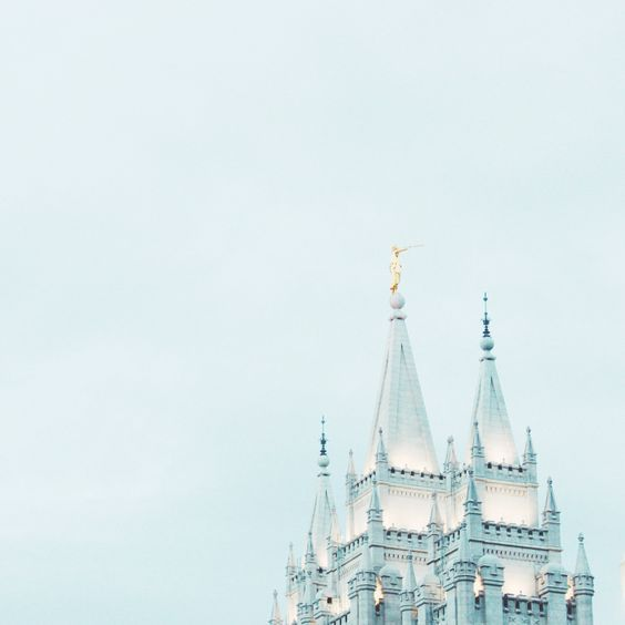 Mormon. LDS temple in Utah. the most beautiful thing you'll ever see. check out the new temple in Philadelphia! it's beautiful as well! these temples are all over the world.