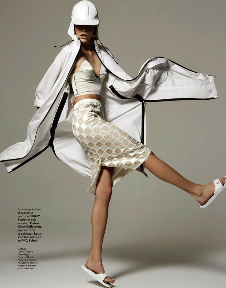 tell me white: mathilda tolvanen by stratis for grazia france 5th july 2013 | visual optimism; fashion editorials, shows, campaigns & more!