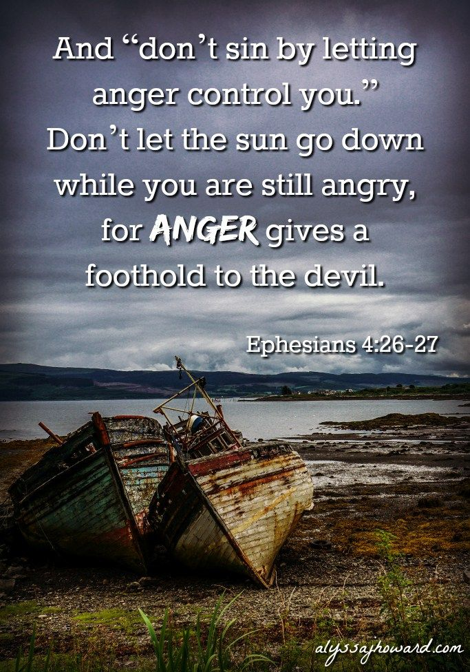 """Jesus tells us in the book of Matthew that anger is """"subject to judgement."""" In fact, He goes as far as to compare it to murder. Now this may sound extremely harsh, but Jesus was simply trying to convey the importance of the heart."""