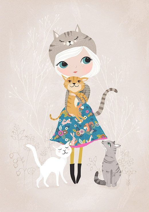 Fresh Baked Friday - Meet Rebecca Jones, Whimsical Art Prints and ...
