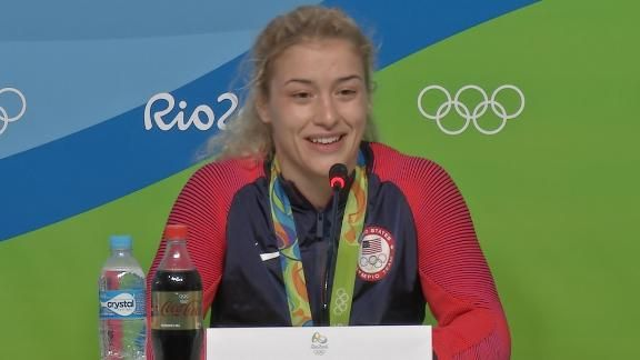 She studied her opponent for 4 years - Rio+Olympics+2016+-+How+Helen+Maroulis+took+down+a+wrestling+legend+in+Japan's+Saori+Yoshida