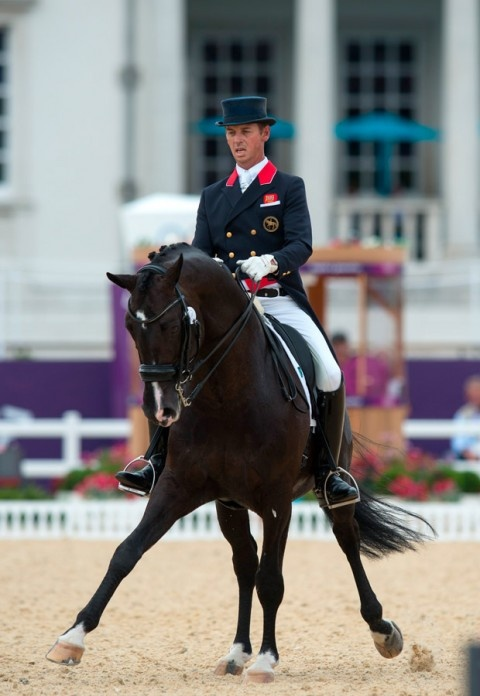 Team GB Olympic dressage - London 2012 Olympics - What beautiful control!