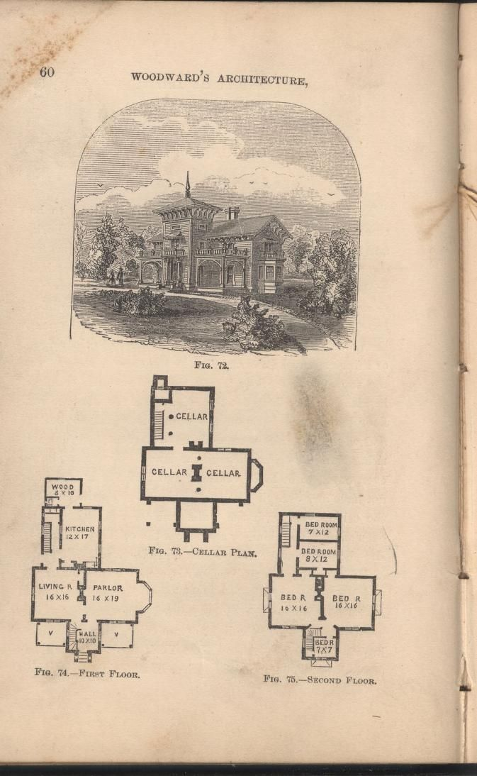 1000 images about vintage house plans 1800s on pinterest for Geothermal house plans