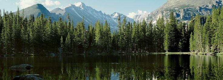 Parque Nacional das Montanhas Rochosas. Colorado, USA.