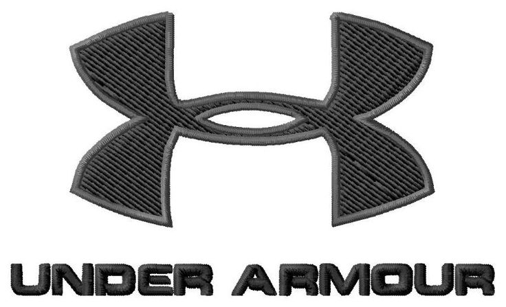 Under Armour Embroidery Design Logo 2 Sizes Single Designs ...