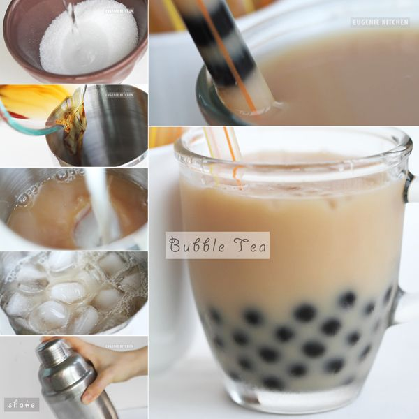 Bubble Tea Recipe. I want to try this.