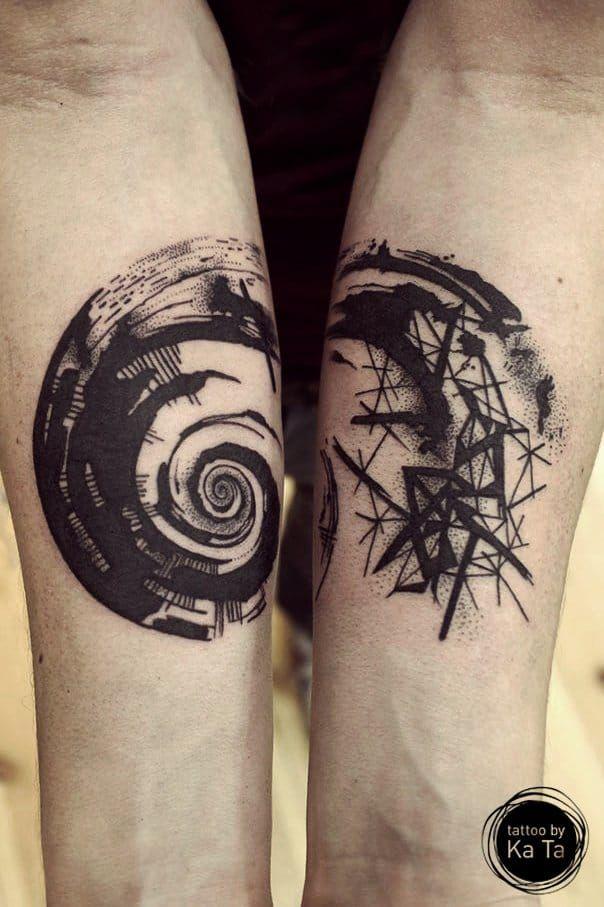 15 Hypnotizing Fibonacci Spiral Tattoos