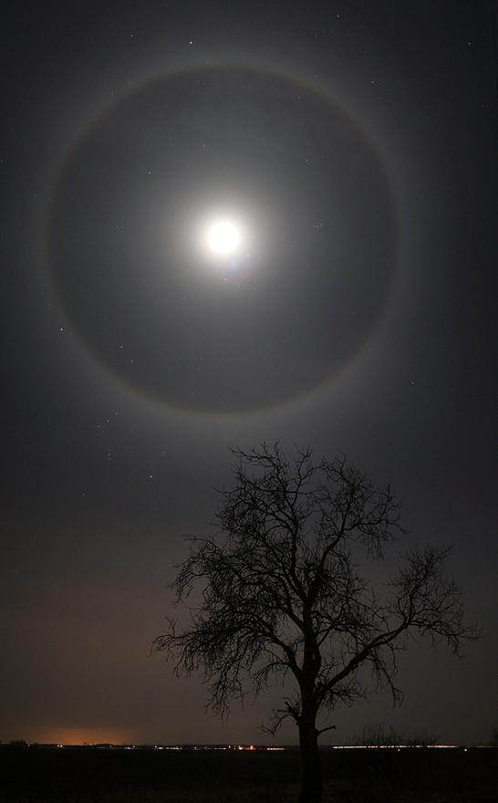 We saw this ring around the moon at our campground on Big Pine Key, fabulous and unforgettable. roadtrekrose