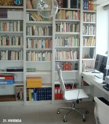 escritorio biblioteca de F A U N A W E B | diseño + mobiliario