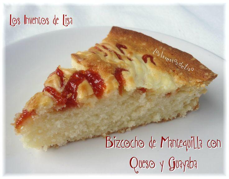 Los inventos de lisa bizcocho de mantequilla con queso y - Postres con queso de untar ...