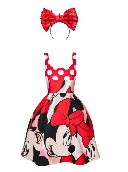 Minnie Mouse Giles Deacon dress