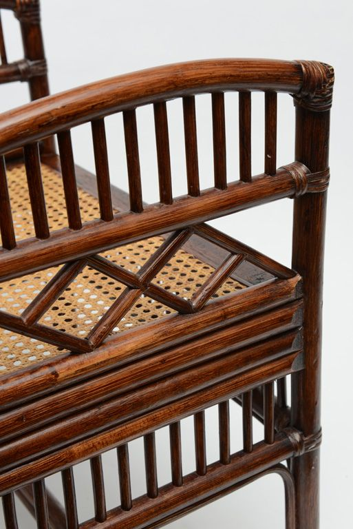 View this item and discover similar armchairs for sale at - Pair of Vintage  Barrel Chairs with cane seat. - 439 Best Love Bamboo/Faux Images On Pinterest Bamboo, Bamboo