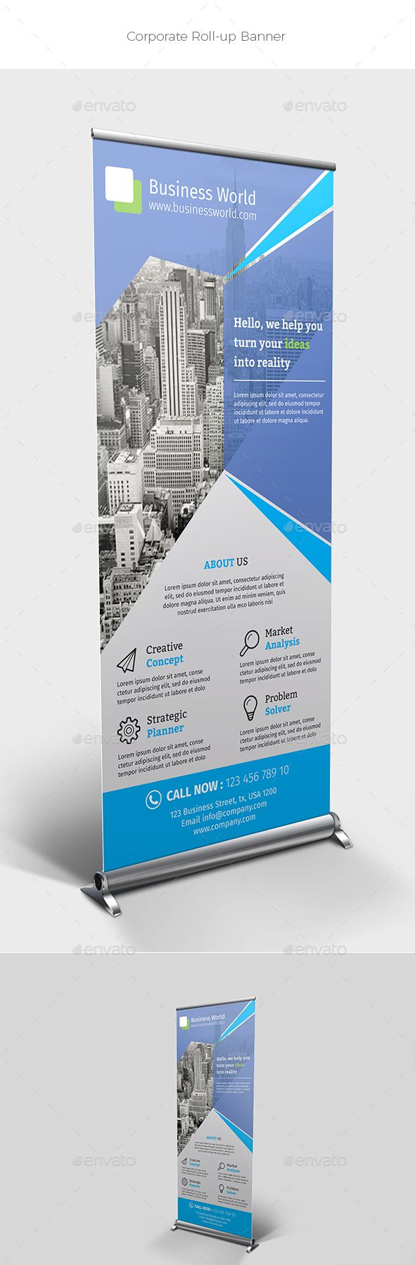 11 best Roll Up Banner images on Pinterest | Banner, Banner template ...