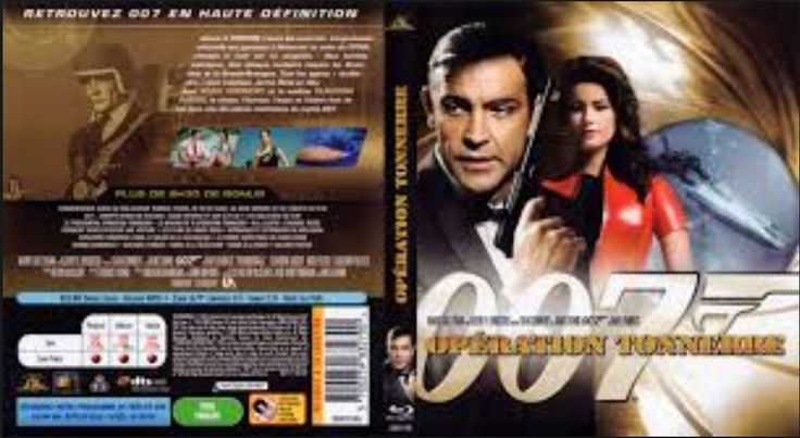 DERNIER EXEMPLAIRE !!!   OPERATION TONNERRE JAMES BOND 007 - BLU-RAY