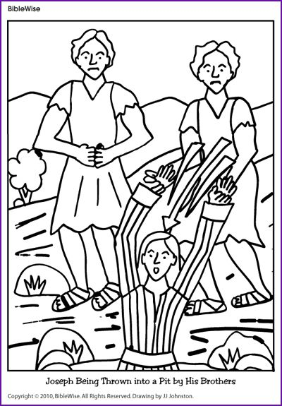 bible coloring pages of joesph - photo#20