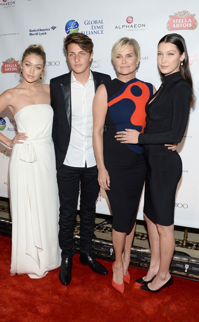 Yolanda Foster Reveals Children Bella Hadid and Anwar Hadid Have Battled With Chronic Lyme Disease  Gigi Hadid, Anwar Hadid, Yolanda Foster, Bella Hadid